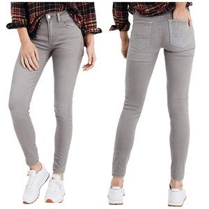 American Eagle Gray Jegging Skinny Jeans